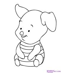 disney cartoon characters drawing at