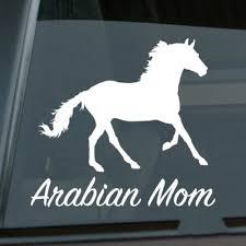 Arabian Mom Sticker Die Cut Vinyl Ver 2 Arab Horse Window Decal Size Inch 5 50 X 5 04 Stickers Aliexpress