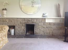 stone fireplace 1960s in dunnington
