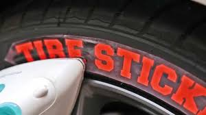 How To Install Tire Stickers Iron On Version Heat Applied Youtube