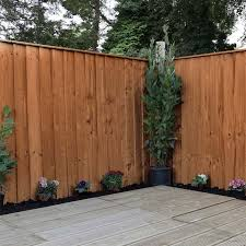 Adley 4 X 6 Pressure Treated Feather Edge Flat Top Fence Panel