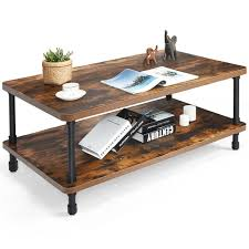 union rustic pack coffee table for