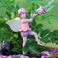 canterbury bell flower fairy figurine