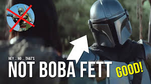The Mandalorian isn't a Boba Fett show ...
