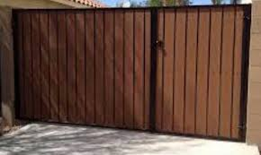 Wrought Iron Rv Gate With Wood Elrod Fence Company Facebook
