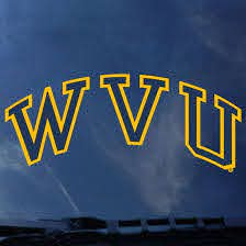 Wvu Arched Decal