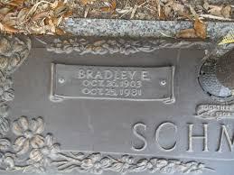 Bradley Eugene Schmidt (1903-1981) - Find A Grave Memorial
