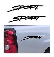 Sport Pair A1 Sticker Set Of 2 Ford Ford Chevy Dodge Toyota 4 4 Decals Aftermarket Replacement Non Factory Custom Sticker Shop