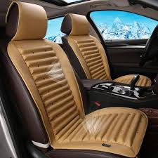 car seat cooling massage leather seat