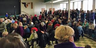 Pamplin Media Group - Sen. Merkley's anti-Trump message 'hit a real nerve'  with large town hall crowds