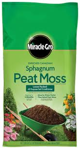 miracle gro enriched sphagnum peat moss