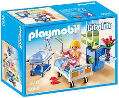 Amazon Com Playmobil Maternity Room Toys Games