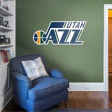 Utah Jazz Logo Officially Licensed Nba Removable Wall Decal