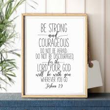 bible verse joshua quotes art canvas painting picture