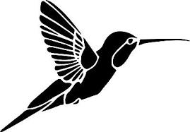 Hummingbird Bird Decal Window Bumper Sticker Car Decor Wildlife Humming Bird Ebay
