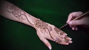 arabic mehndi designs for right hand palm