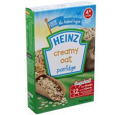 Bột ăn dặm Heinz (gạo-rau củ hỗn hợp) (125g) - công thức dinh ...