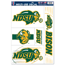 North Dakota State Bison Wincraft 11 X 17 Sheet Reusable Window Cling
