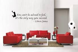 Newclew Lebron James Quote The Only Way To Succeed Removable Vinyl Wall Decal Home Decor Large Buy Online In Bahamas Newclew Products In Bahamas See Prices Reviews And Free