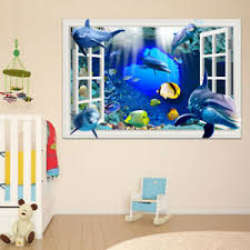 3d Window View Wall Decal Sticker Vinyl Wallpaper For Kids Rooms Home Decoration Ebay