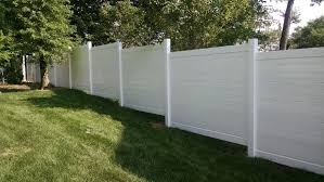 Check Out Our Latest Edition A Solid Pvc Fence With Horizontal Boards As Opposed To The Usual Vertical Style Bergenfence Solid Pvc Fence Fence Styles Fence