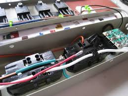 microcontroller switched power strip