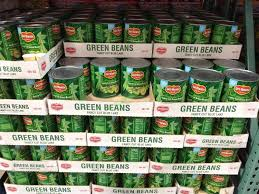 del monte cut green beans 101 ounce can