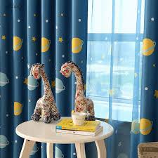 1pcs Blue Planet Cartoon Baby Boy Blackout Curtains For Children Room Cortina Para Quarto Living Room Window Curtain Home Decor Babi Poem Curtains Windowsbaby Stroller City Select Aliexpress