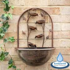 Cascading Wall Hanging Water Features