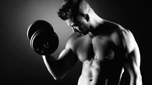 تحميل خلفيات رجل العضلات الدمبل تجريب عريضة 1920x1080 جودة عالية Hd صور خلفيات