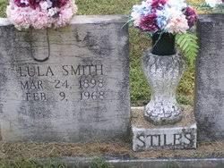 Lula Smith Stiles (1898-1968) - Find A Grave Memorial