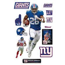 Fathead Saquon Barkley New York Giants 12 Pack Life Size Removable Wall Decal