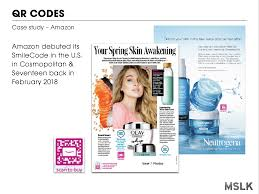 qr code use on beauty packaging