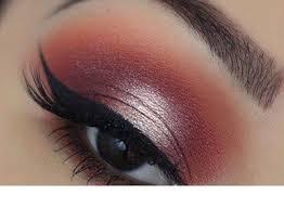 beautiful eye makeup for fall