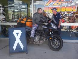 National solo motorcyle ride raises awareness for domestic ...