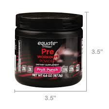 equate pre workout powder fruit punch