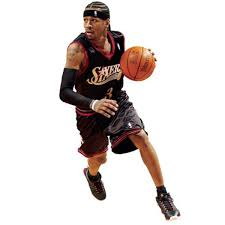 Fathead Allen Iverson Philadelphia 76ers Life Size Removable Wall Decal