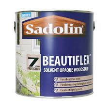 Sadolin Beautiflex Solvent Opaque Woodstain Wood Finishes Direct