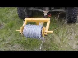 Tarter Barbed Wire Unroller Pt 2 Youtube