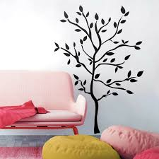 Tree Branches Big Black Mural Wall Stickers Leaves Room Decor Vinyl Decals New For Sale Online