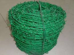 Pvc Coated Barbed Wire Barbed Wire With Polymeric Coating