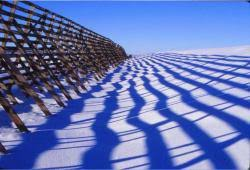 Snow Fences How Do They Work What Are They Where Did They Come From Photos