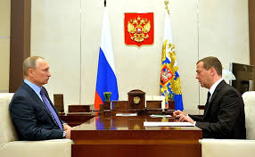 Working meeting with Dmitry Medvedev • President of Russia