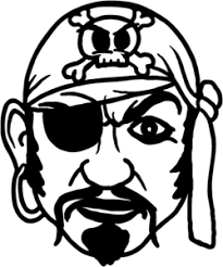 Pirate Decal With Eye Patch Stom 3 Truck Boat Car Window Stickers Wildlife Decal