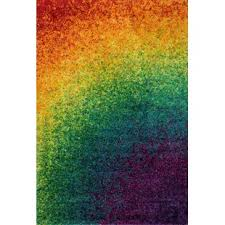 Kids Rainbow Rug Wayfair