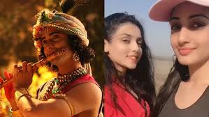Sumedh gives flute lessons to co-stars Mallika and Preeti in RadhaKrishn