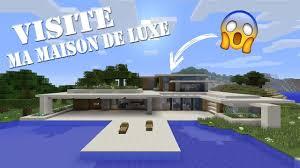 ma maison de luxe sur minecraft ps4