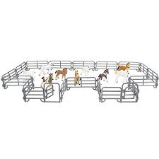 Toymany 18pcs Corral Fencing Panel Accessories Playset Includes 2 Gates Fences Plastic Fence Toys For Barn Paddock Horse Stable Or Farm Animals Horses Figurines Educational Gift For Kids Toddler Amazon Price Tracker