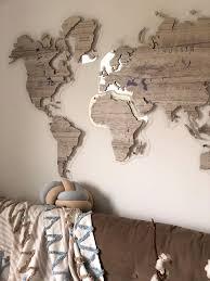 Big World Maps Custom World Map Pvc Maps Decal Wall Map Etsy In 2020 World Map Decor Map Wall Decor World Map Wall Decor