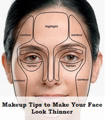 makeup make your face look thinner